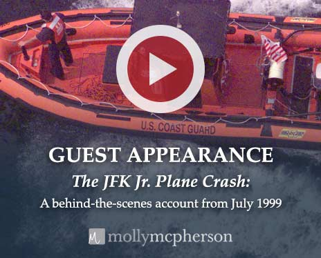 Guest Appearance speaking about the JFK Jr Plane Crash with Molly McPherson